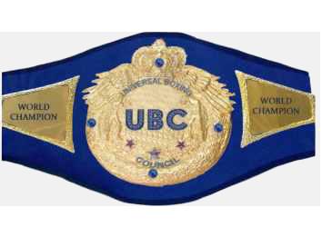@ubc WORLD CHAMPION TITLE
